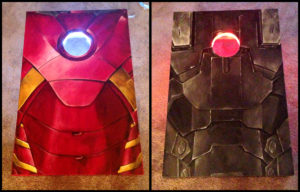 Cornhole Boards : Ironman/Warmachine © TH